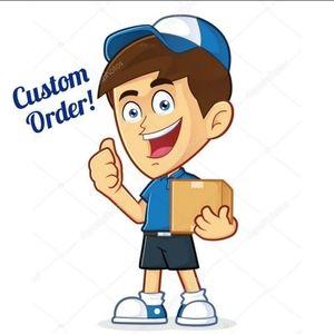 Custom Order for kashkaugoods